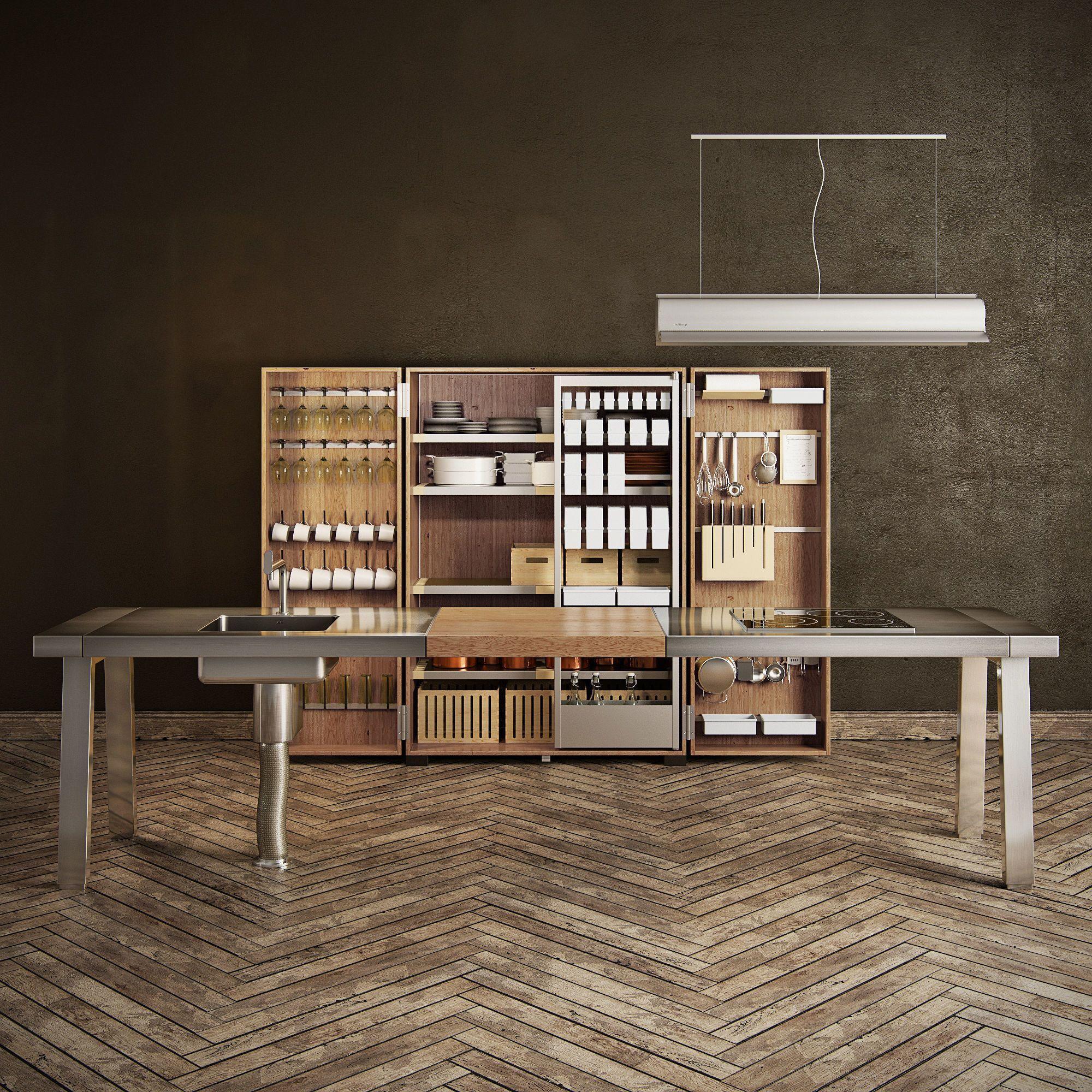 Bulthaup B2 3d Model Max Obj Fbx Mtl Mat 1 Kitchens In Kitchen Decor Modern Interior Design Kitchen 3d Interior Design