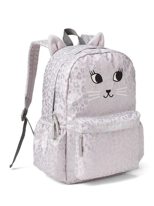 1d13b9d0e6 Gap Girls Cat Senior Backpack Leopard