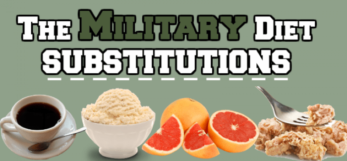 Military Diet Substitutions: What Can You Eat? -   7 military diet Before And After ideas