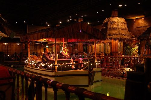 Tonga Room, Fairmont Hotel, San Francisco - Going Strong Since 1945.  Good food, great Tiki Bar,  music & dancing!