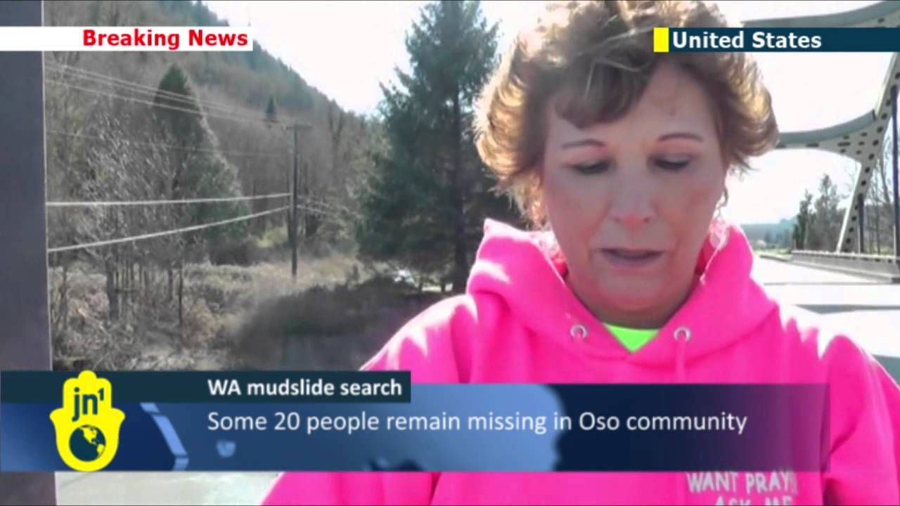 Washington State Mudslide Tragedy: Death toll rises to 28 as search cont...