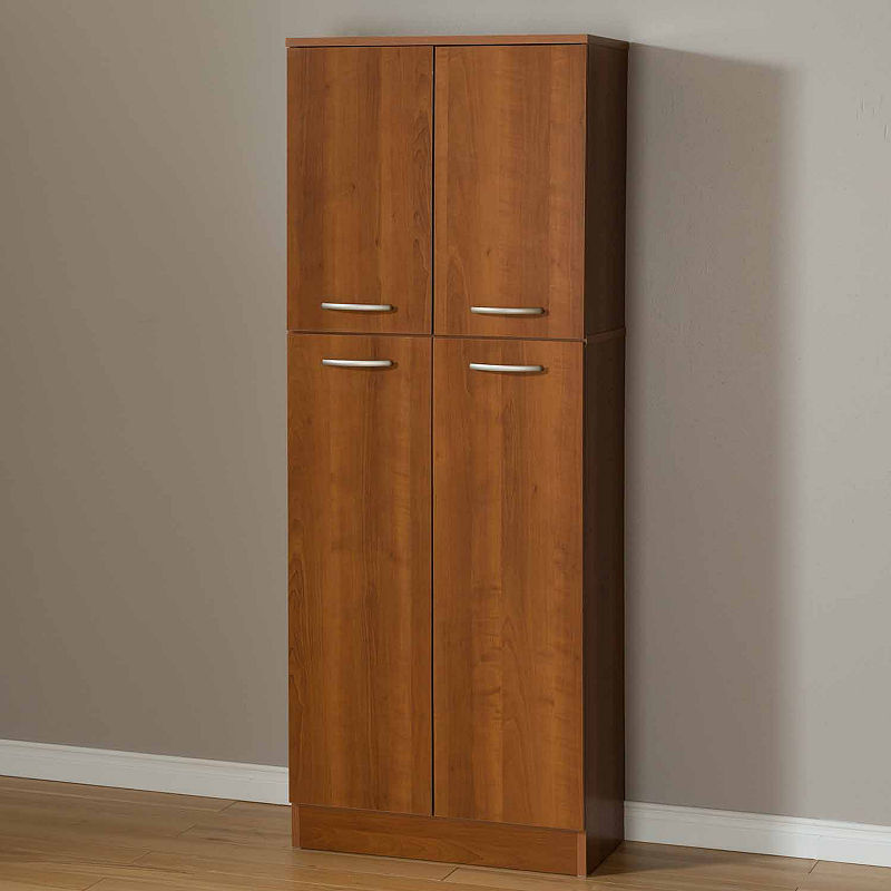 South Shore Axess 4 Door Storage Kitchen Pantry Pantry Storage Cabinet Kitchen Cabinet Storage Pantry Storage