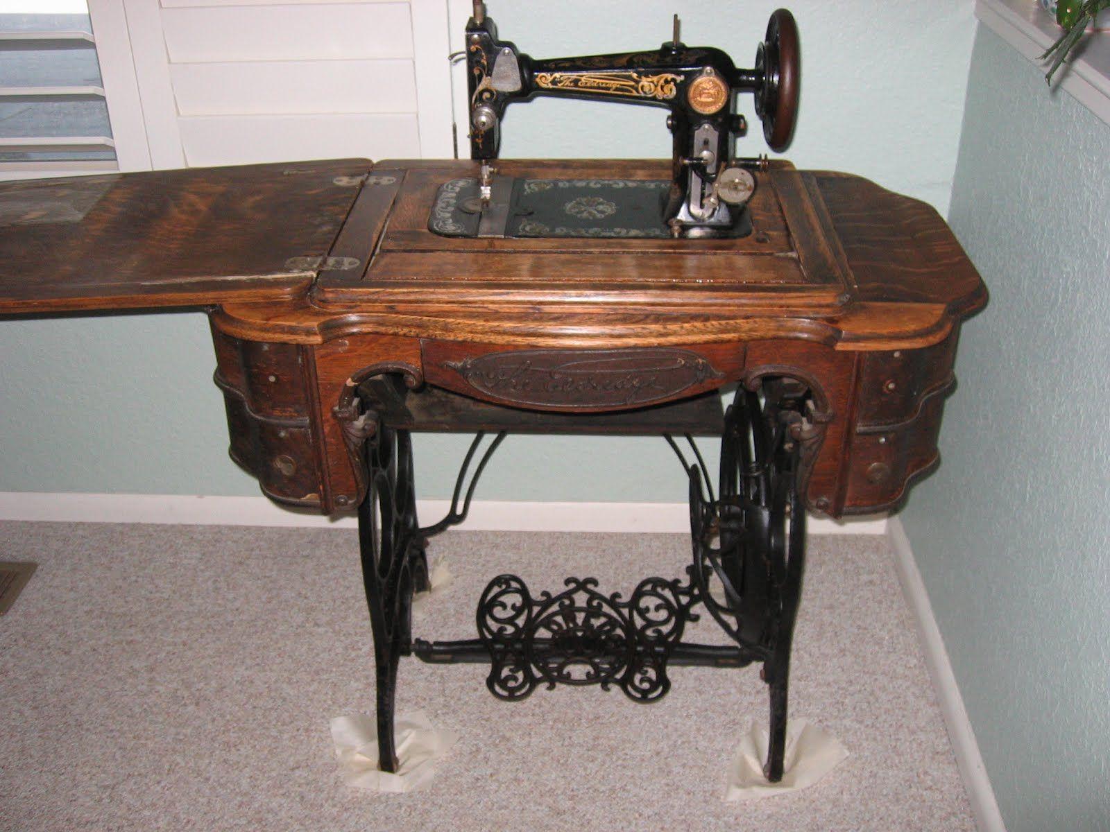 Eldredge Sewing Treadle Machine Google Search Vintage Sewing
