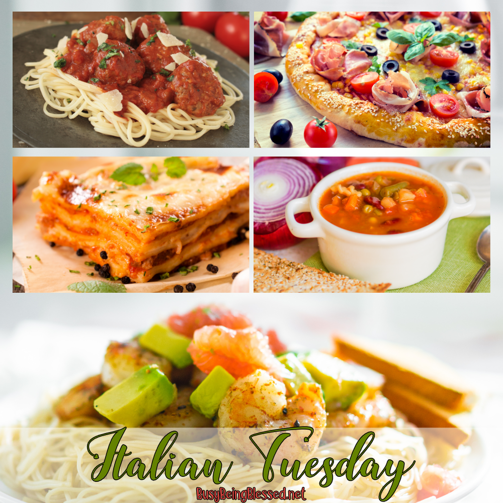 Italian Tuesday Recipe Roundup Beef recipes for dinner