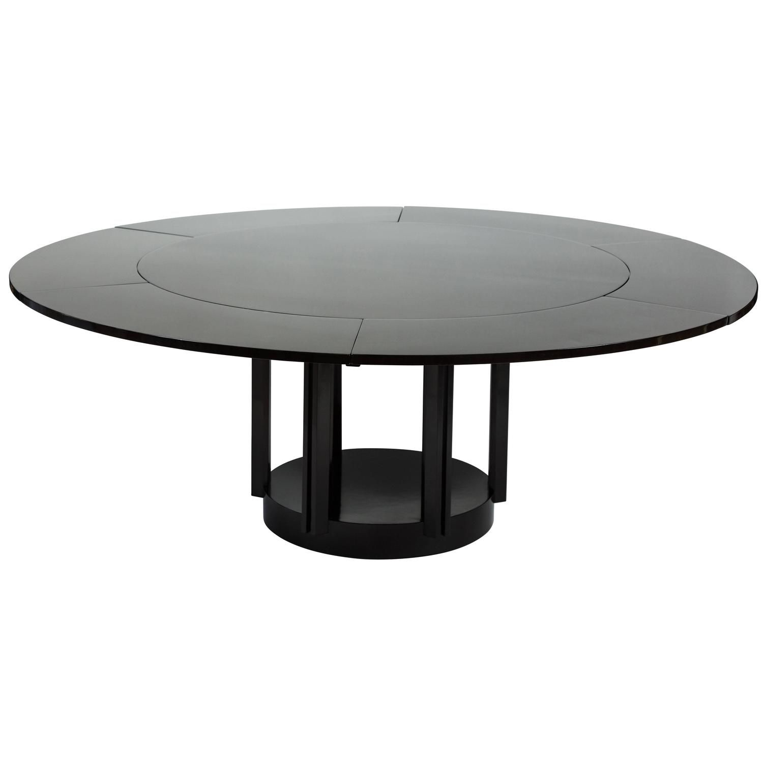 Fantastic Modern Round Dining Table By Eliel Saarinen For Johnson