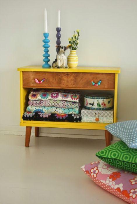 20 ideas para pintar muebles de madera antiguos a todo color 2 colores pinterest muebles - Pintar muebles antiguos de colores ...