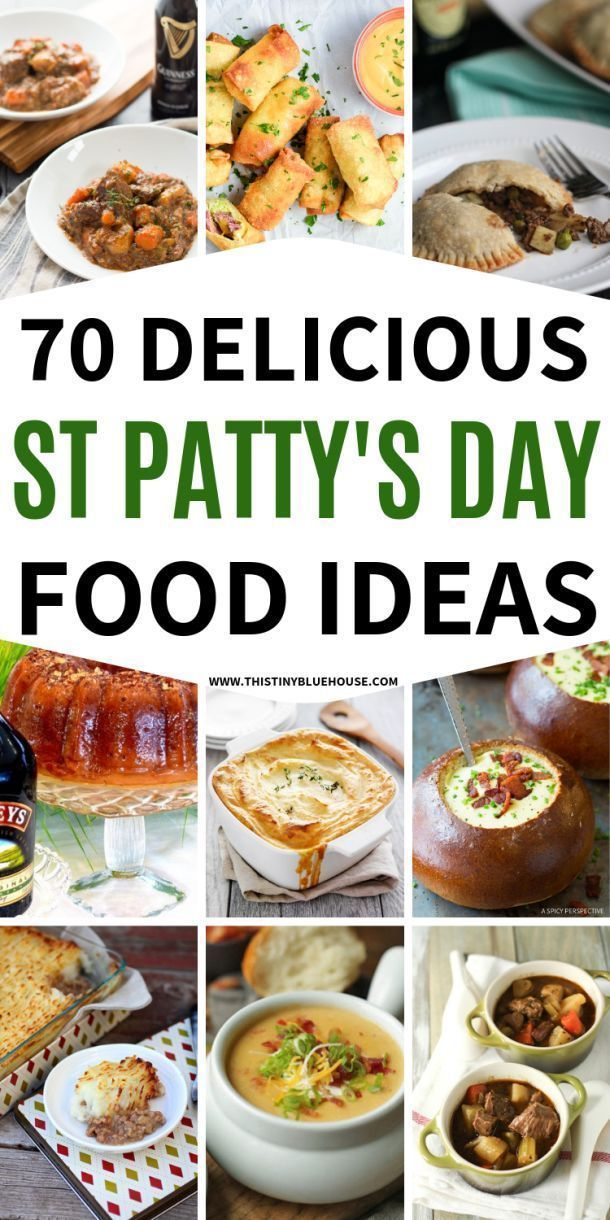 70 St Patrick's Day Food & Drink Ideas