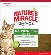 Natural Pine Lttr Clumping/order Control 8lbs Natural Pine Lttr Clumping/order Control 8lbs...  #NATURE'SMIRACLEPRODUCTS #SingleDetailPageMisc