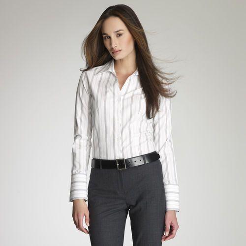 Jones new york tops blouses shirts no iron easy for Jones new york no iron easy care boyfriend shirt