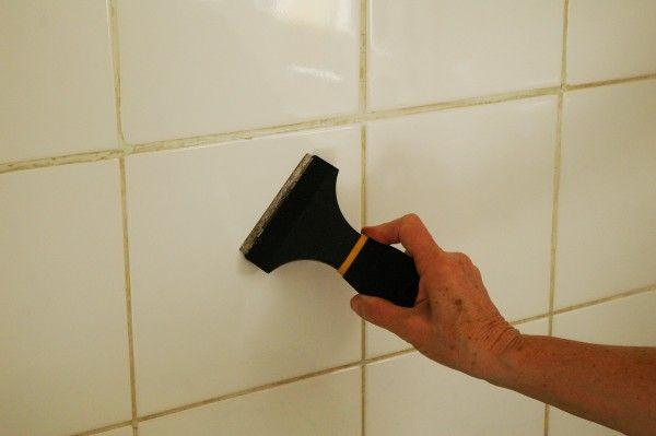 Faux Carrelage \ Vrai Test  Notre Avis Sur La Crédence Adhésive - enlever carrelage salle de bain