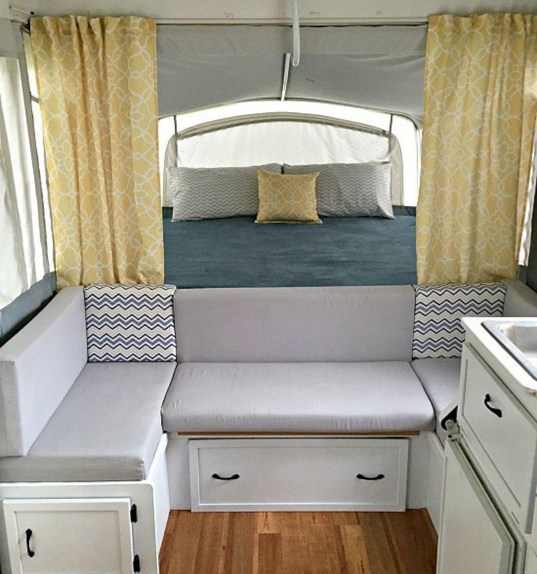 Top 15 Diy Camper Interior Remodel Ideas You Can Try Right Now Camper Interior Design Camper Decor Glamper Camper