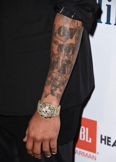 Chrae Source Chris B Chris Brown Tattoos