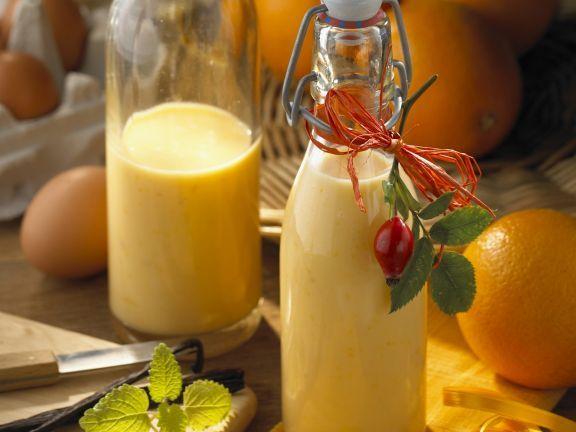 Eierlikör mit Orange und Vanille ist ein Rezept mit frischen Zutaten aus der Kategorie Südfrucht. Probieren Sie dieses und weitere Rezepte von EAT SMARTER!