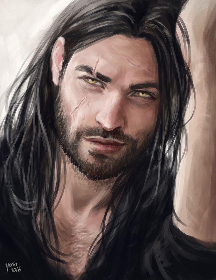 This Is The Kind Of Rugged He Would Be He Doesn T Normally Choose To Look Like This Though He Can If He Ne Portrait Dragon Age Characters Character Portraits