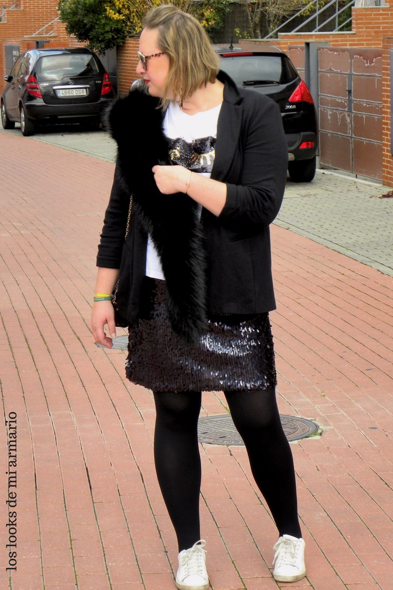 Trendy Curvy LOOK. OUTFIT FALDA GLOBO #looknavideño#navidades #paillete #lentejuelas #outfittallagrande #curvy #plussizecurve #personalshopper #curvygirl #loslooksdemiarmario #bloggermadrid #outfit #plussizeblogger #fashionblogger #influencer #trend #trendy #bloggerXL