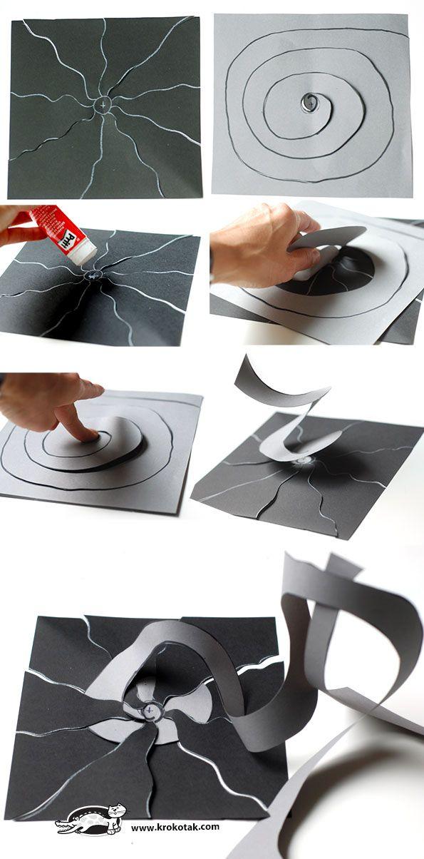 Pop-art spider web | Halloween | Pinterest | Artes visuales ...