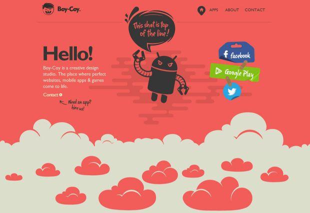 20 Websites Using Parallax Scrolling Minimal Website Design Web Design Inspiration Parallax Website