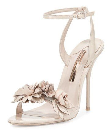 Lilico Floral Leather 105mm Sandal