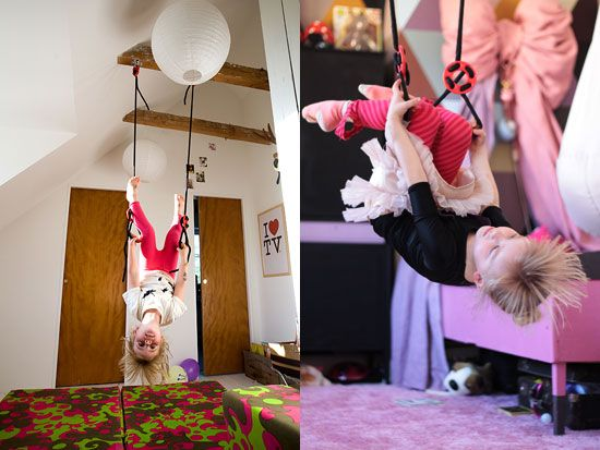 Gymnastic Rings At Home For The Kids To Play With Kids Rooms Inspo Cool Toys Toy Rooms
