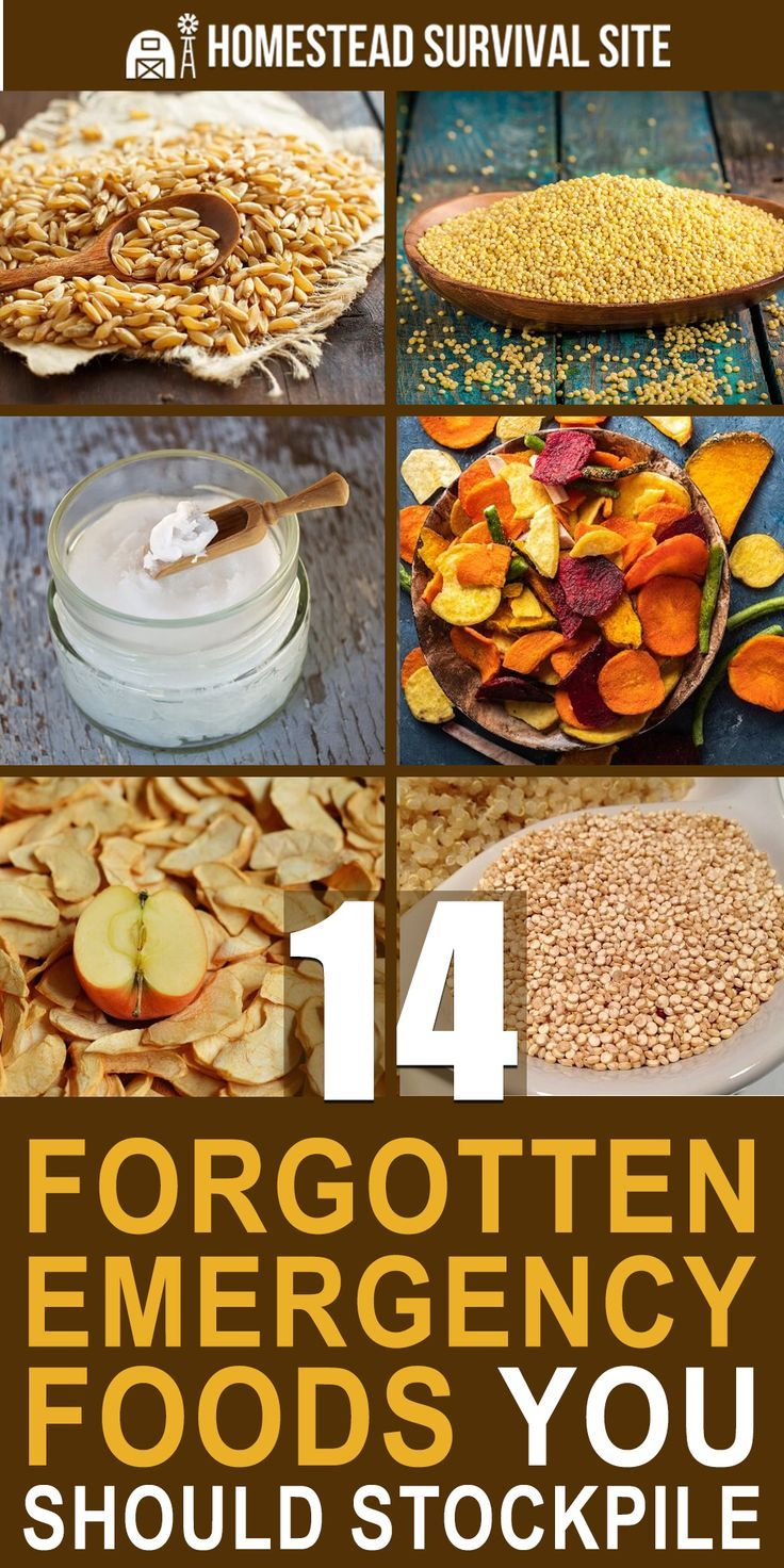 14 Forgotten Emergency Foods You Should Stockpile #wintersurvivalsupplies