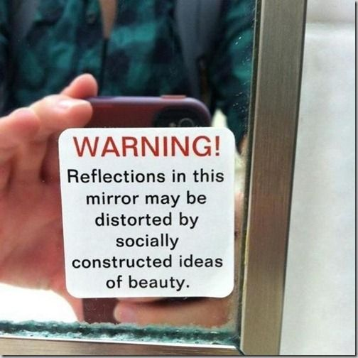 WORDS OF WISDOM - The mission of Operation Beautiful is to post anonymous notes in public places for other people to find. The point is that WE ARE ALL BEAUTIFUL. You are enough... just the way you are!