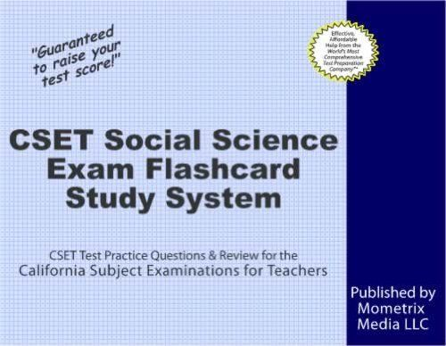 Cset Social Science Exam Flashcard Study System Cset Test