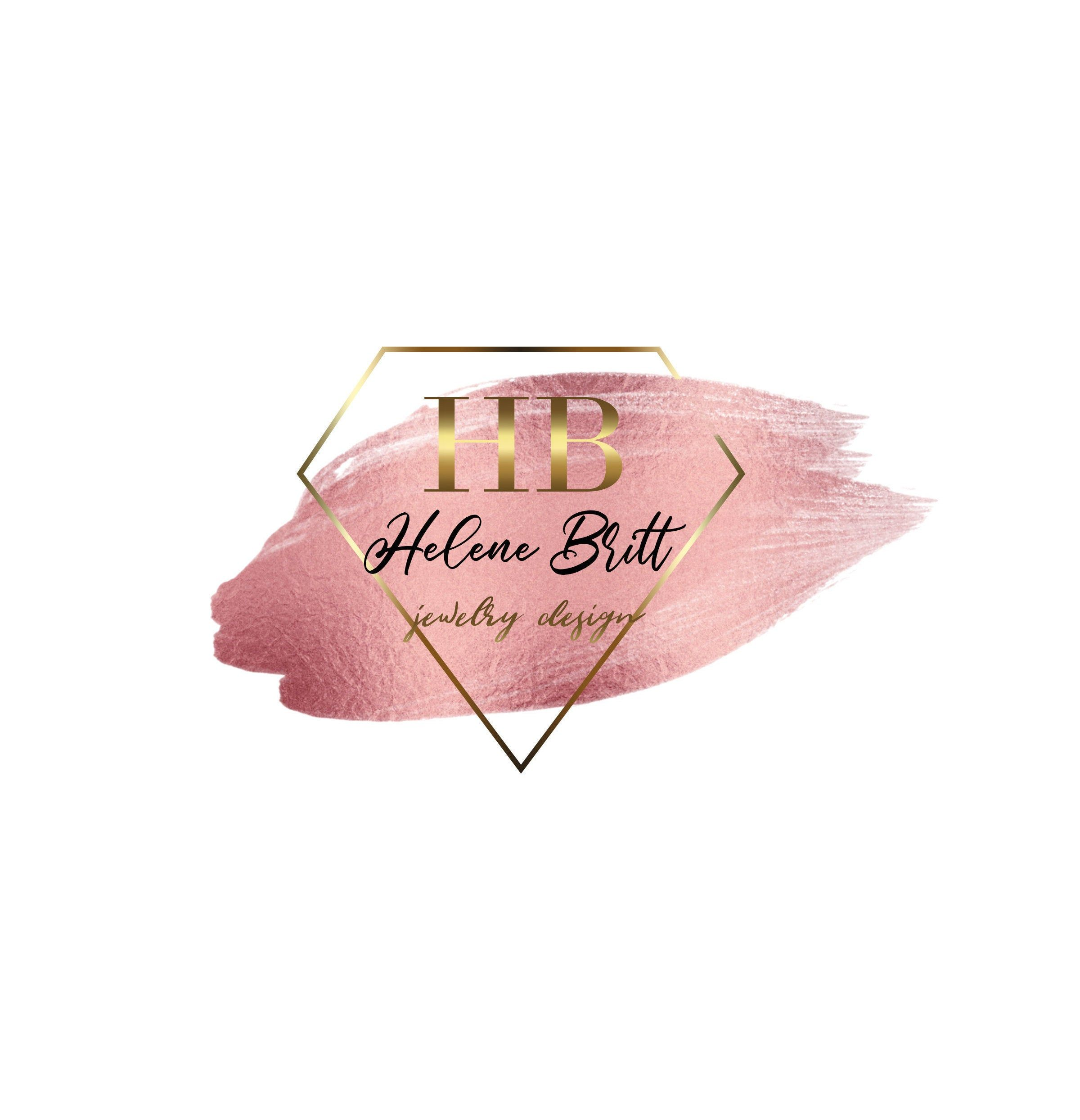 Jewelry Logo, Beauty Salon Logo, Makeup Artist Logo, Nail Salon