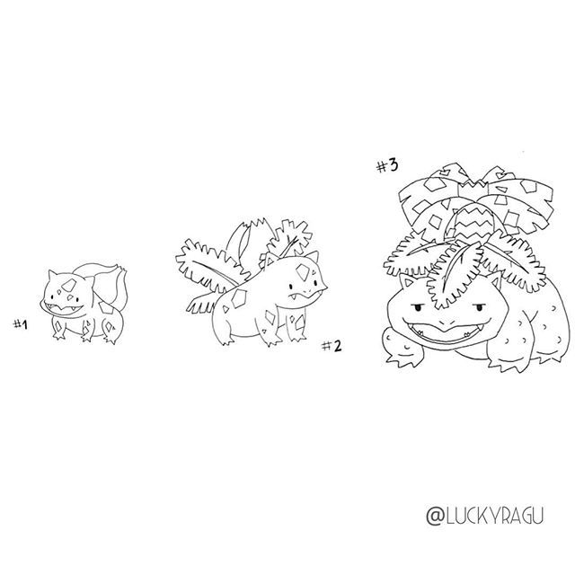 Pokemon Coloring Pages Of Bulbasaur Download Or Print The Image