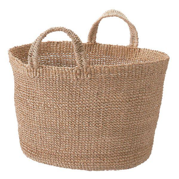 Abaca Laundry Basket Natural Muji Basket Muji Style
