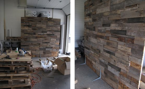 pallet boards wall paletten wand renovate til its great pinterest wand pallets and. Black Bedroom Furniture Sets. Home Design Ideas