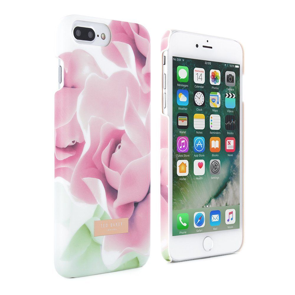 eb27d6368 Official TED BAKER AW16 iPhone 8 Plus   7 Plus Case - Luxury Snap on Case    Cover in Flower Design for Women - Hard shell Back Cover for the Apple  iPhone 8 ...