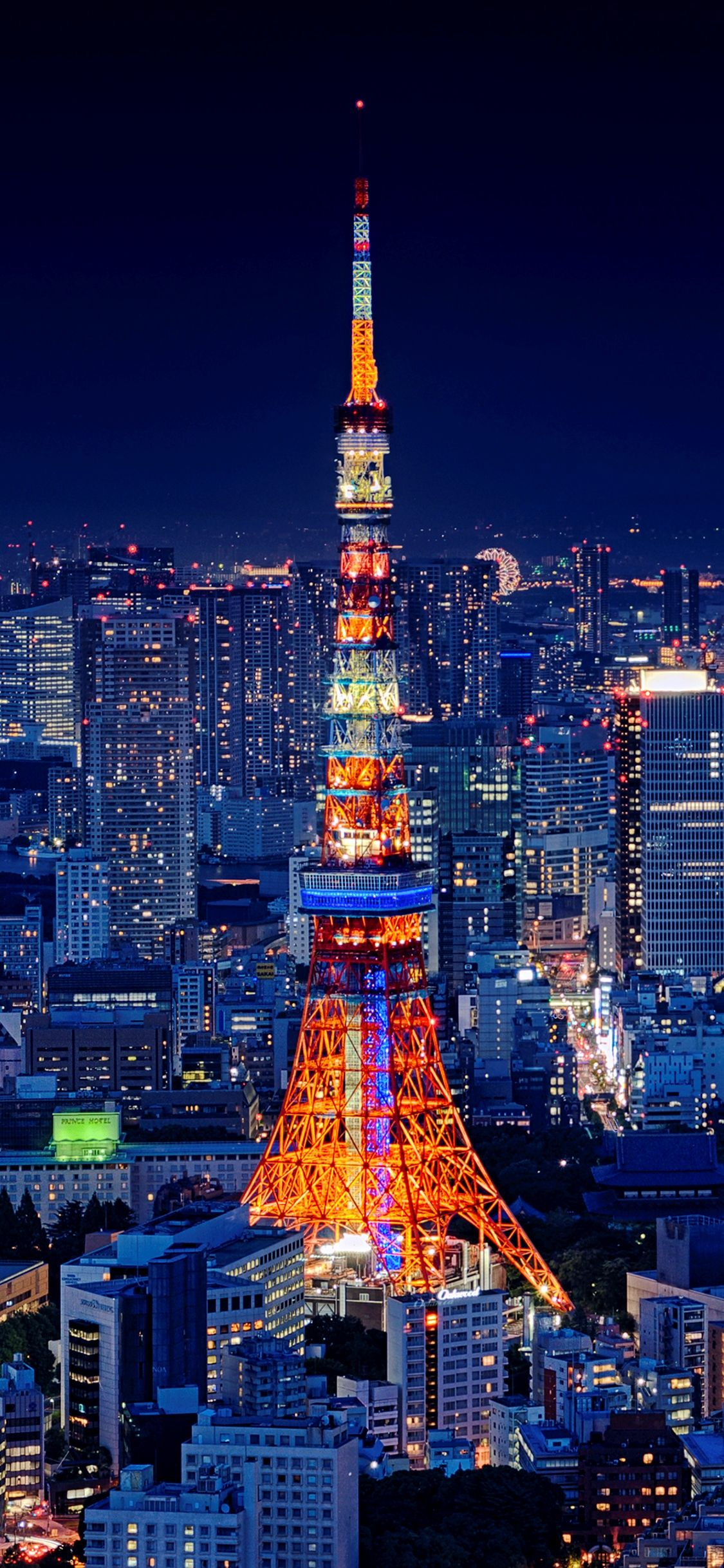 Tokyo Wallpaper 4k Iphone Gallery 東京タワー 日本 夜景 東京 風景