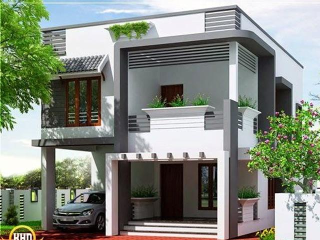Bahay Ofw 2 Storey House Design Kerala House Design Latest