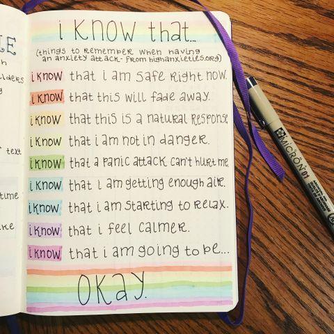 Bullet Journal als Werkzeug für psychische Gesundheit mit Lili @rainbowbulletjournal - Prett #mentalhealthjournal
