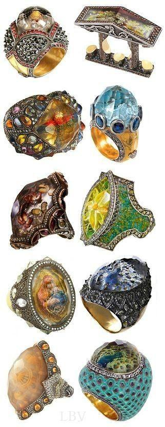 ~Sevan Bıçakçı rings   House of Beccaria