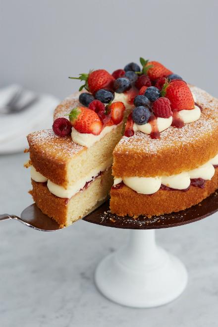 Cookeo Yogurt Cake Hq Recipes Recipe In 2020 Victoria Cakes Victoria Sandwich Cake Sponge Cake Recipes