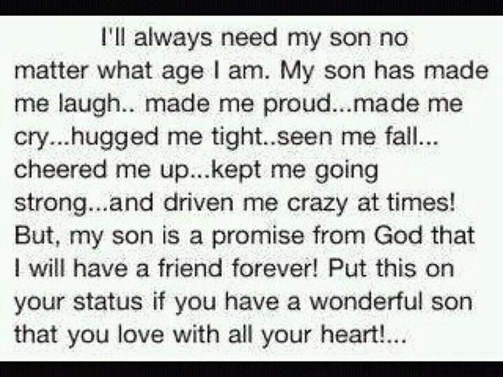 I Love You Son Sayings