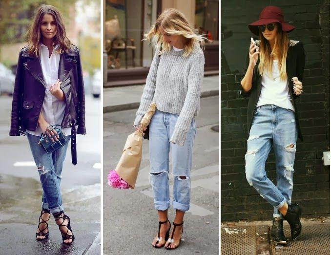 how to wear boyfriend jeans in winter - Google Search | Weekend ...