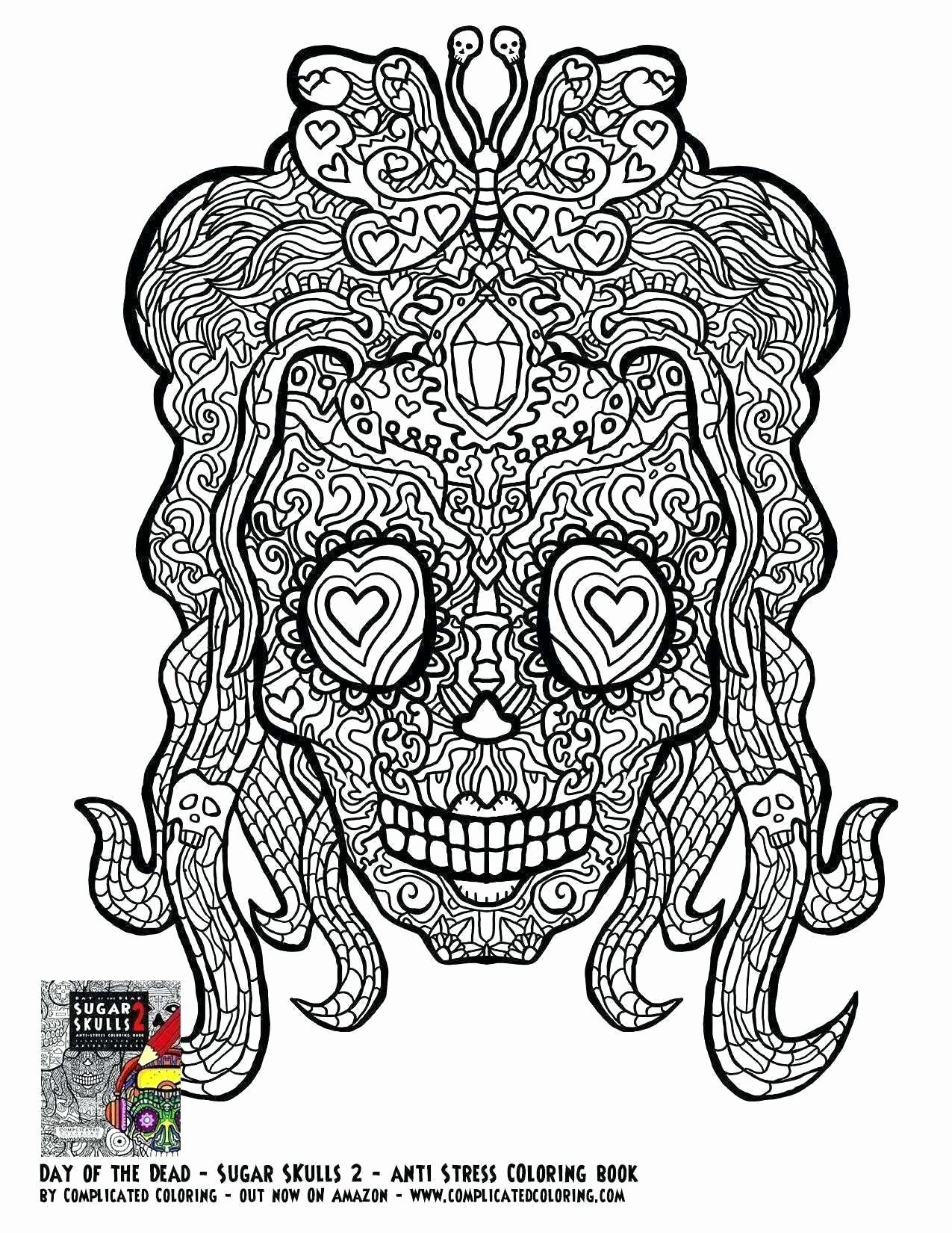 Skull Bones Coloring Pages Awesome Cinco De Mayo Skull