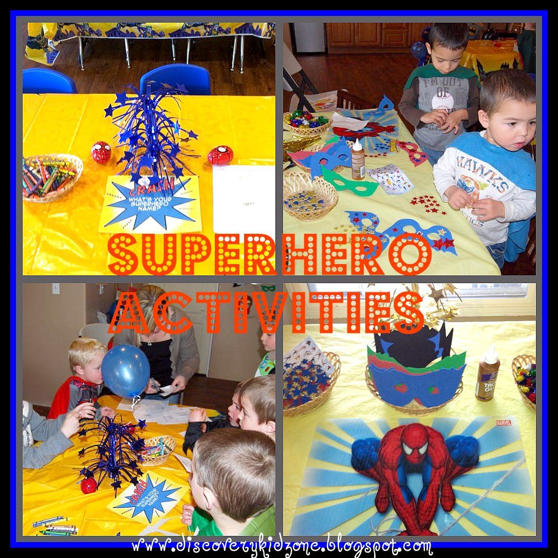 discovery kidzone montessori adventures superheroes and villians