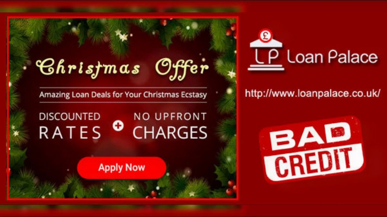 Make Your Christmas Extra Merry Loans For Bad Credit Make It Yourself Christmas