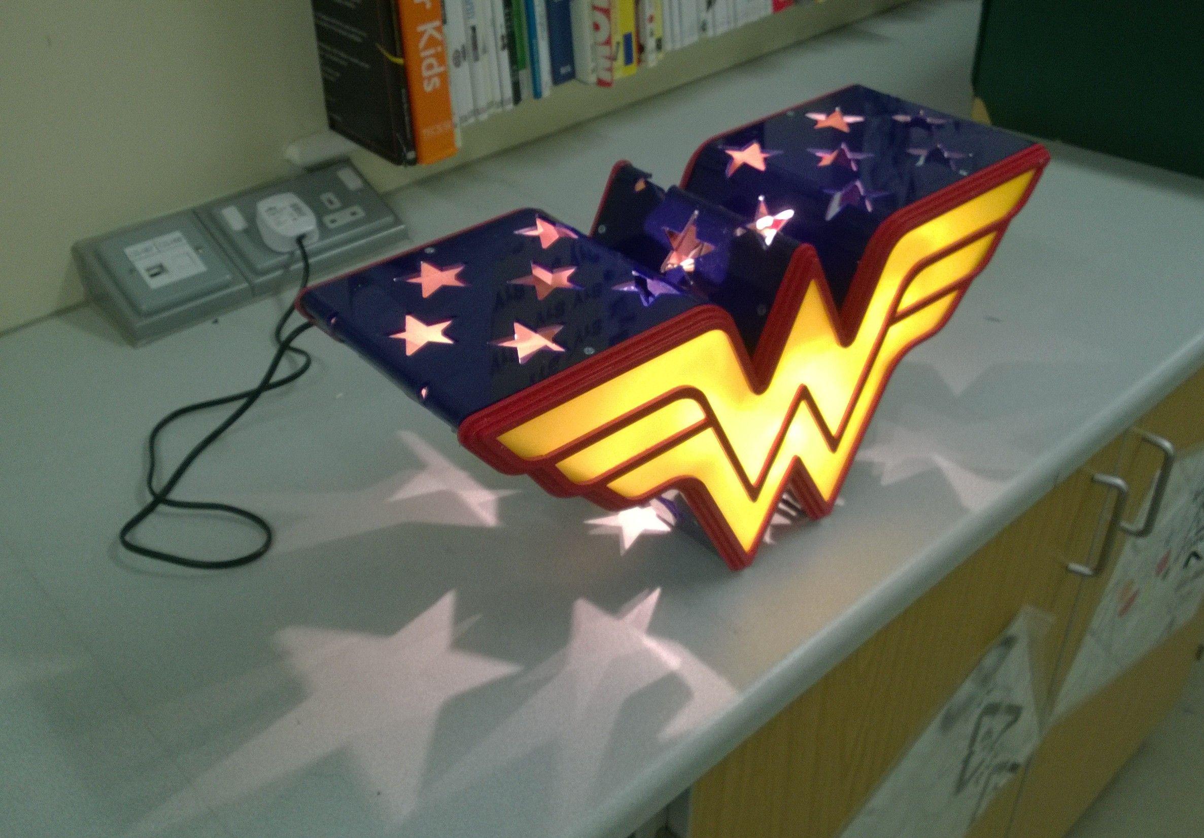 Marvel Wonder Woman Light Lamp Home Decor That I Love