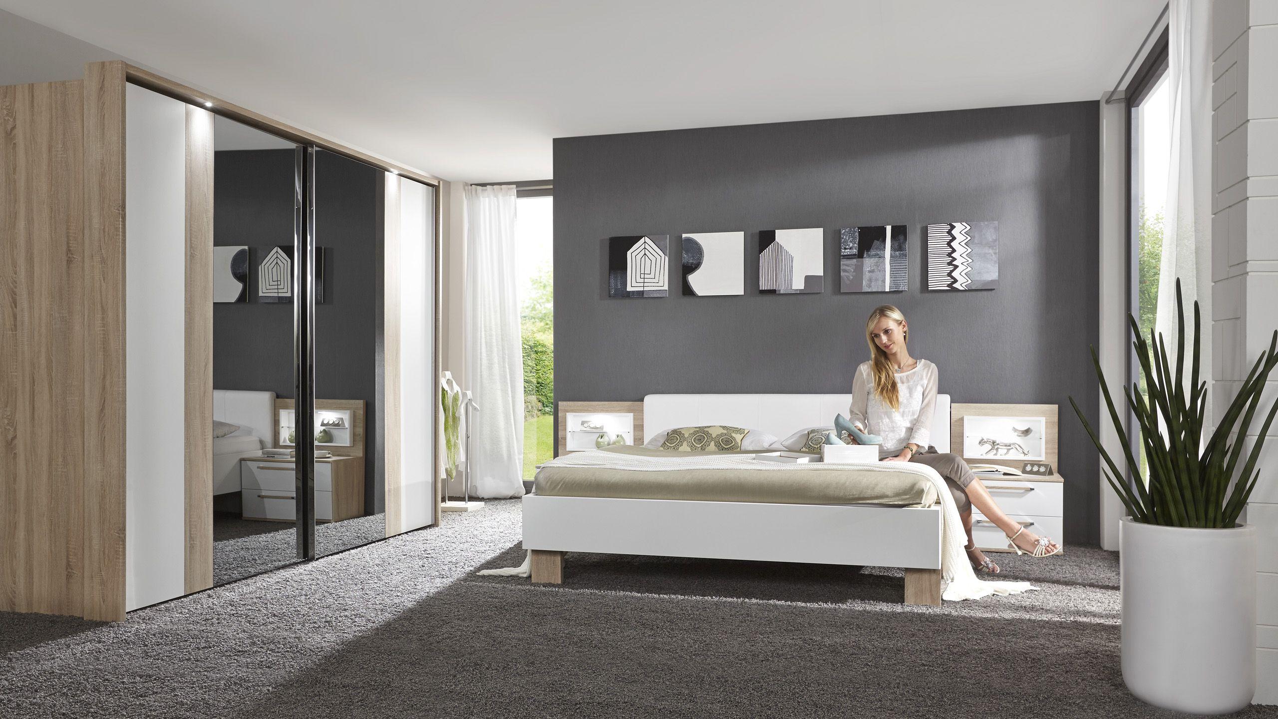 schlafzimmer schranktüren neu gestalten | Wände streichen ideen ...