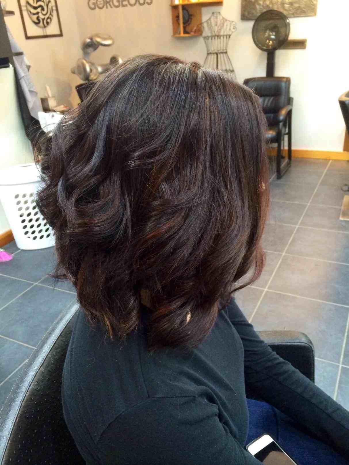 balayage on short indian hair | hair stylist and models