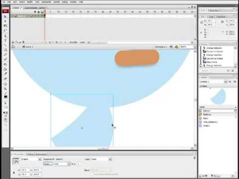2D Character Animation in Adobe Flash - Part 1: Rigging and