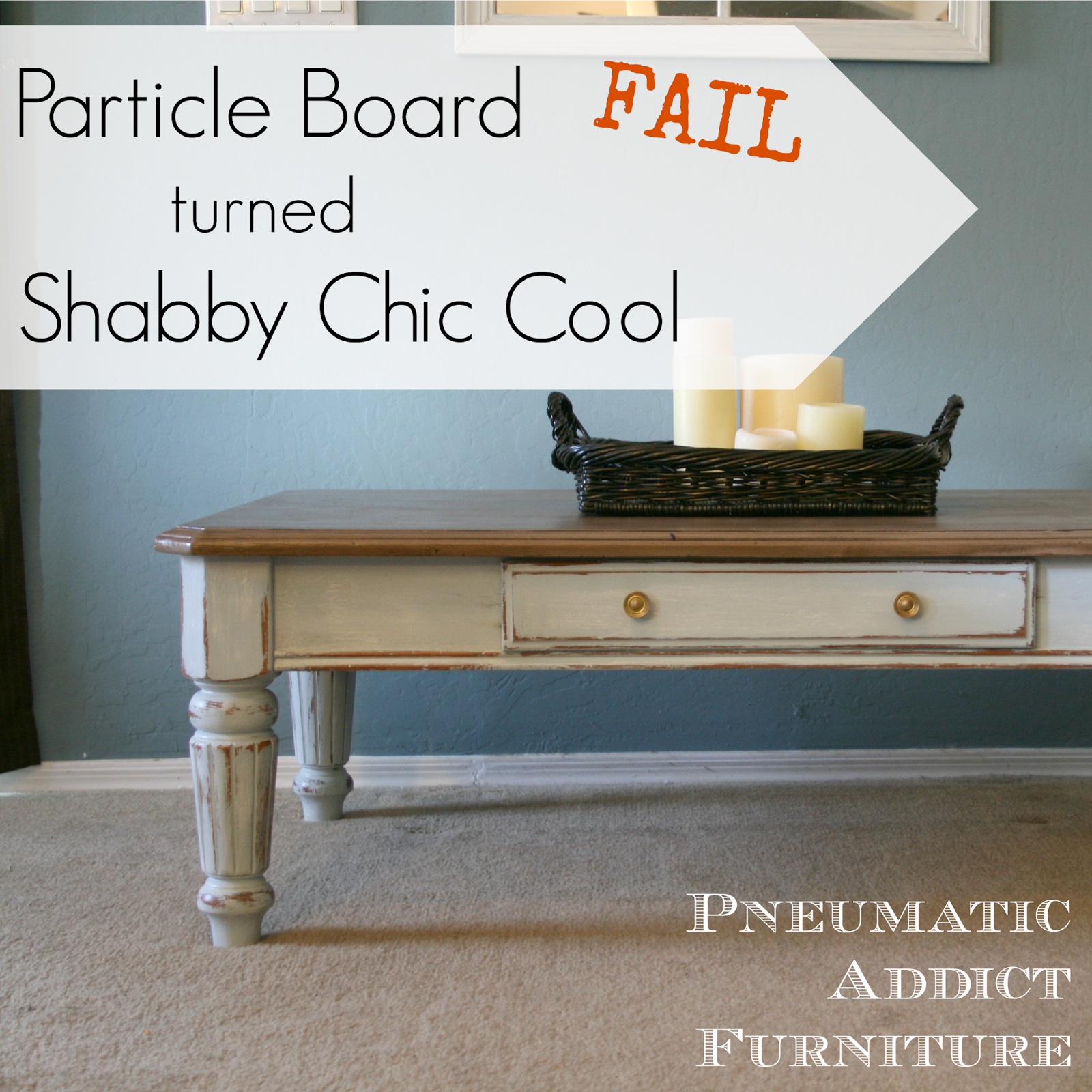 How to make a sofa table out of floor boards - Home Coming Guest Post Particle Board Table Diy Furniture