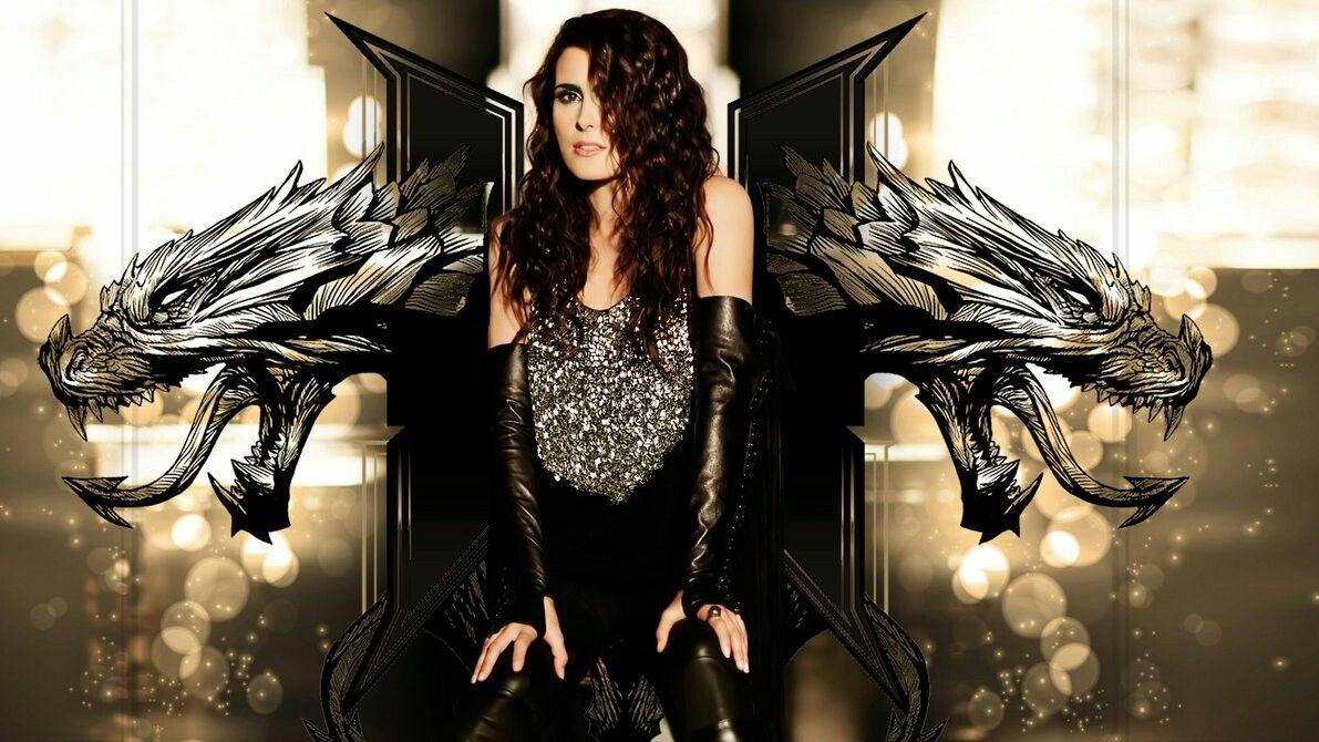 Wallpaper Sharon Den Adel Hydra Metal Girl Symphonic