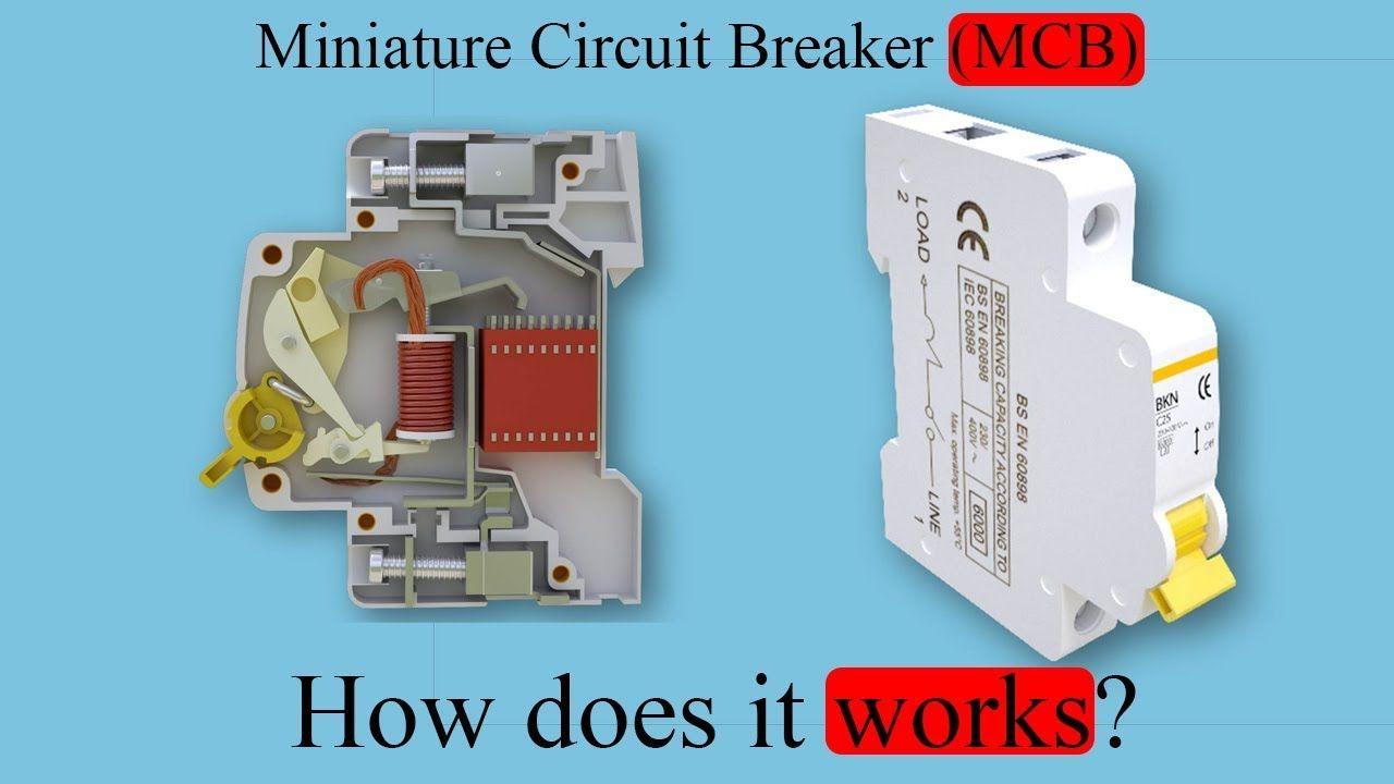 Miniature Circuit Breaker (MCB) How does it work? A Miniature ...
