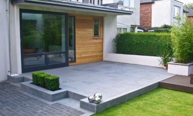 modern concrete patio ideas