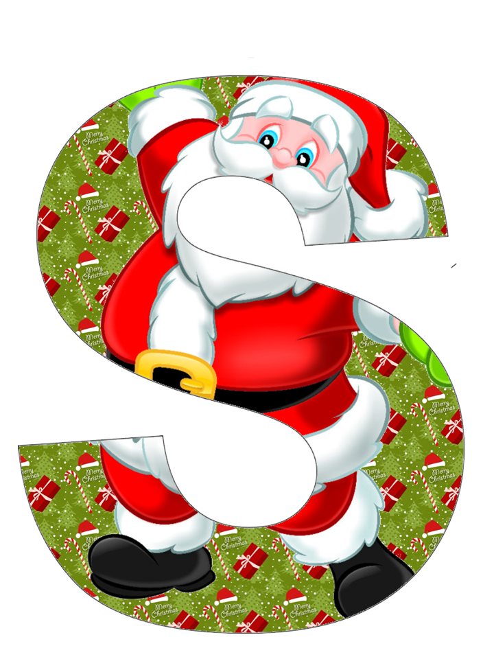 It is a graphic of Universal Christmas Letter Clipart